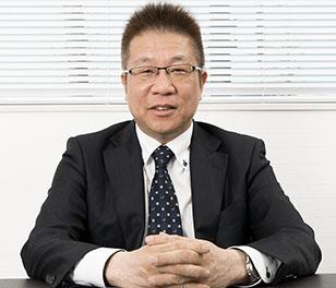 代表取締役 加藤栄一の写真